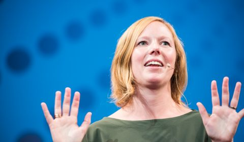 Annemette Hellinga vol enthousiasme TEDxAlmere 2017