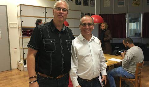 Rudy Veraar en Wim Belt
